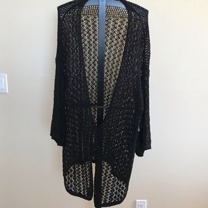 CHICO's Sweater/ Duster Size 3 (14-16)